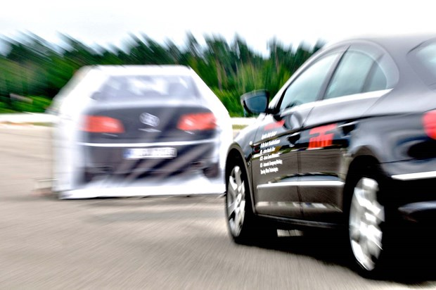 Autonomous emergency braking (AEB) takes collision avoidance a step further, adding automatic braking to the mix if the driver doesn't react to an obstacle detected by the car's forward crash sensors.