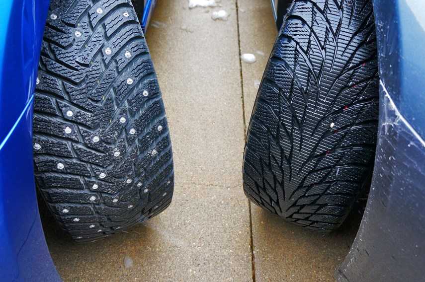 Winter Tires: Studded and Studless