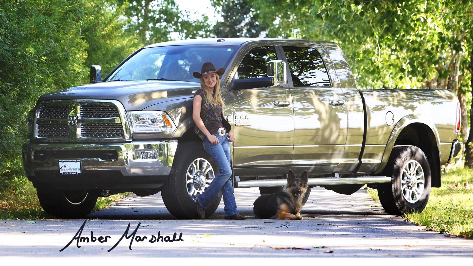 Foto do carro de Amber Marshall
