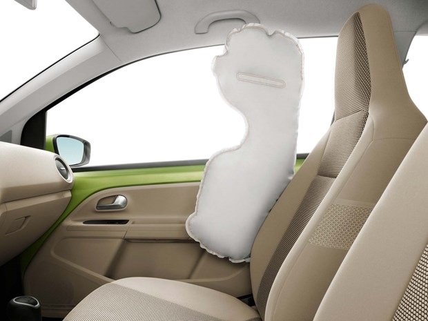A Swedish company called Autoliv AB patented seat-mounted torso side airbags, and the 1994 Volvo 850 was the first to offer them as an option.