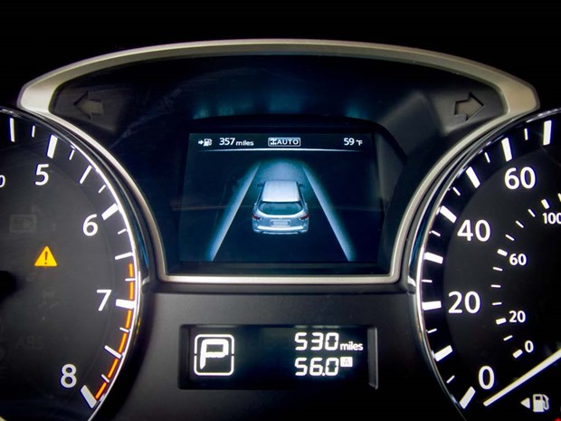A few years later, Infiniti's EX went a step further with North America's first lane departure prevention (LDP) system, which monitored lane position and, if it sensed the car getting too close to a line, would apply the brakes on the opposite side of the car to pull it back toward the middle of the lane.