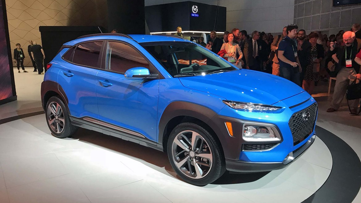 2018 Hyundai Kona Preview