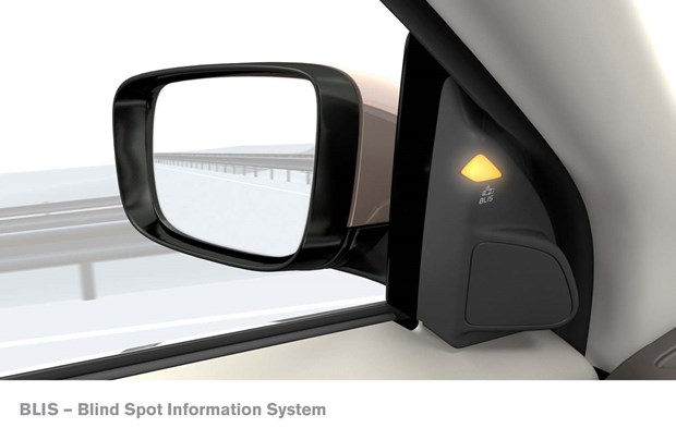The Swedish safety freaks at Volvo were first to develop a blind spot monitor, called the 'blind spot information system, or BLIS. Volvo first offered it in Australian market models in 2005.
