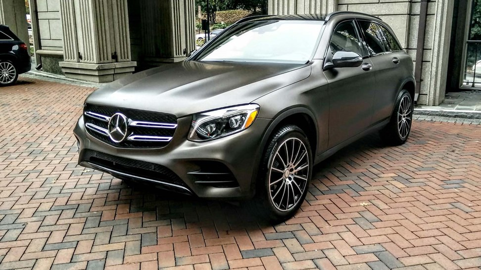 2016 mercedes benz glc300 4matic first drive review. Black Bedroom Furniture Sets. Home Design Ideas