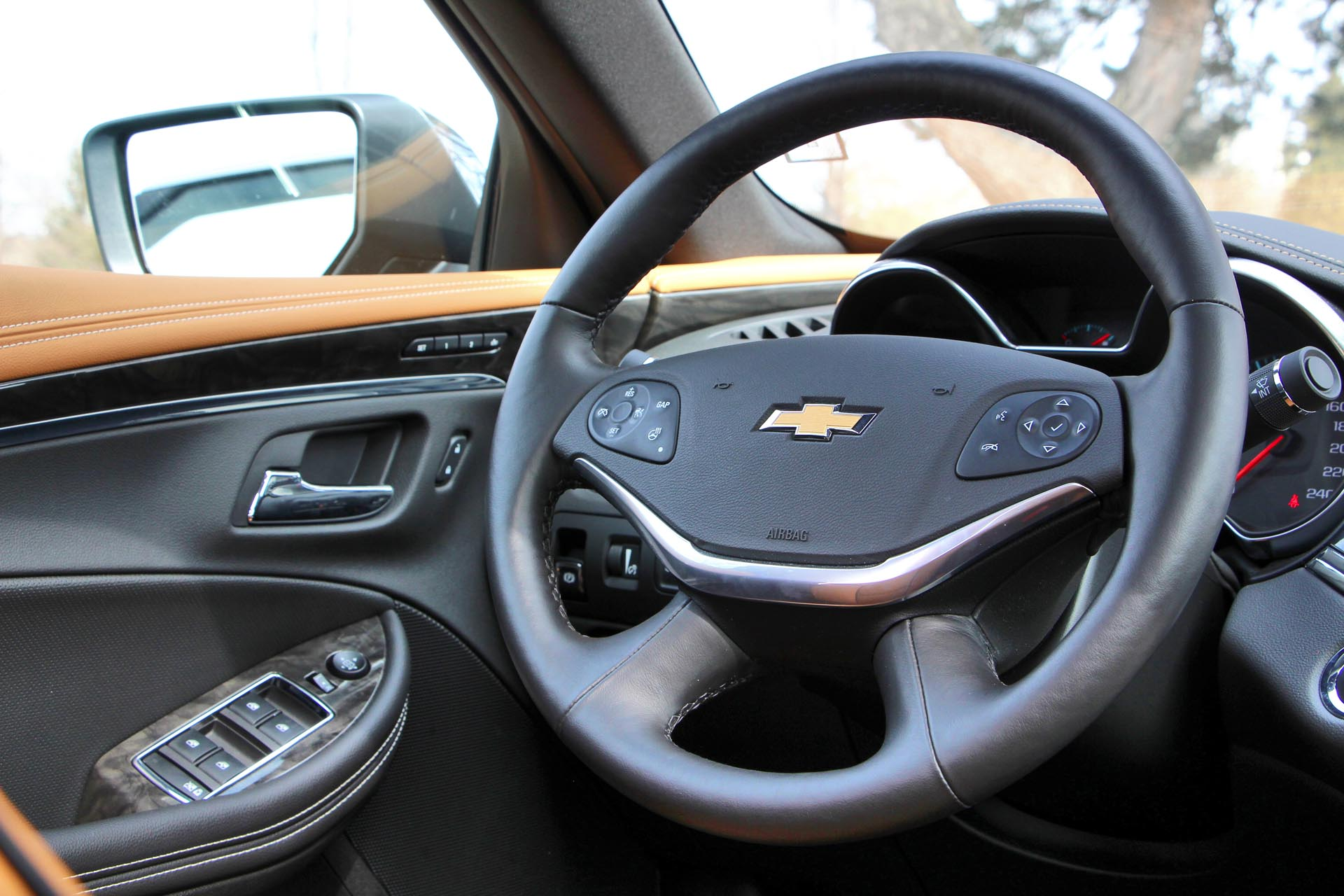 2015 chevrolet impala ltz test drive review. Black Bedroom Furniture Sets. Home Design Ideas