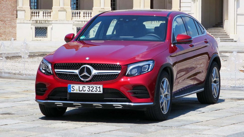 2017 mercedes benz glc300 4matic coupe first drive review for Glc 300 mercedes benz 2017