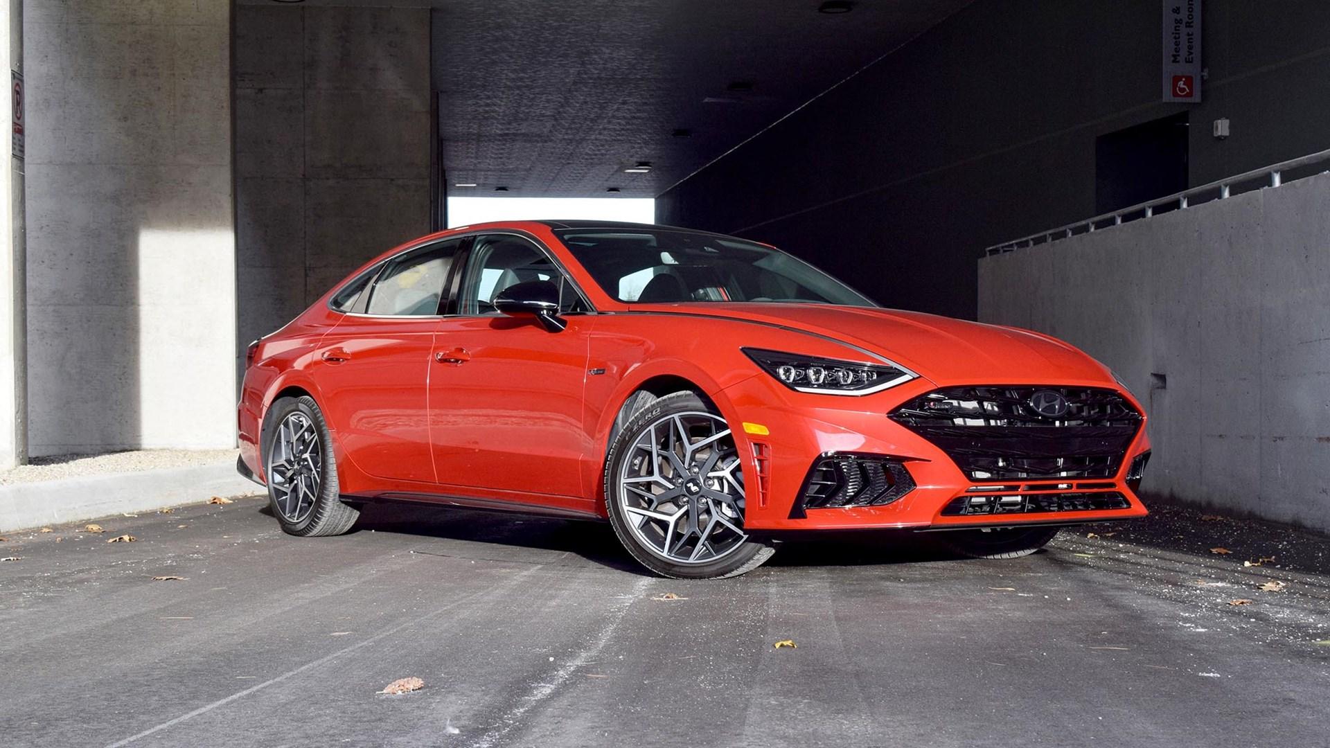 2021 Hyundai Sonata N Line First Drive Review Expert Reviews Autotrader Ca