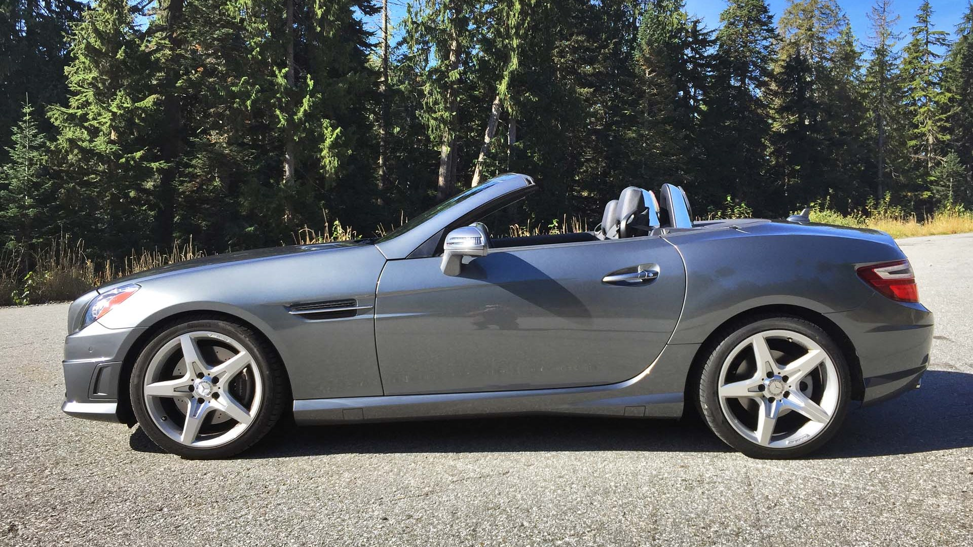 2016 Mercedes Benz Slk300 Test Drive Review