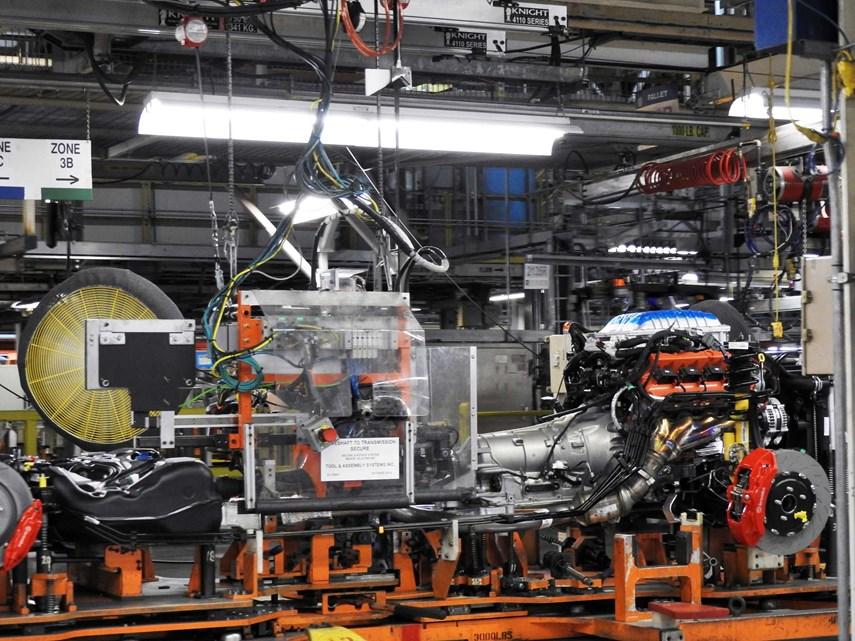 at the Chrysler Brampton Assembly Plant