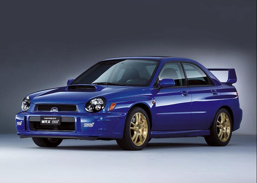 """We know it better as the """"Bugeye,"""" the goggle-headlighted machine that replaced the original Impreza with a larger, more comfortable driving experience. The looks were perhaps something to become accustomed to; the performance was still right there."""