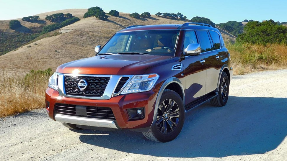 2017 nissan armada first drive review. Black Bedroom Furniture Sets. Home Design Ideas