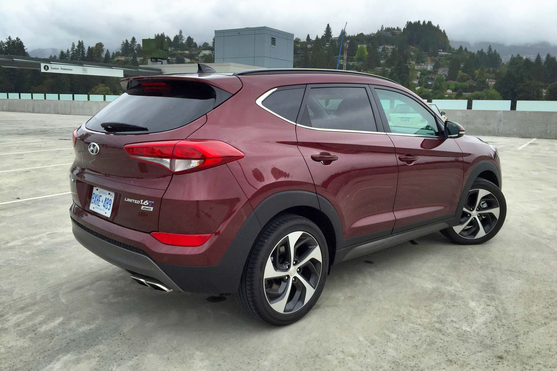 2016 hyundai tucson limited 1 6t awd test drive review. Black Bedroom Furniture Sets. Home Design Ideas